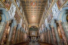Bazylika San Marco blisko Venezia pałac i Campidoglio w Rzym, Włochy Zdjęcie Royalty Free