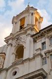 Bazylika Sant'Agnese w Agone Zdjęcia Stock