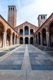 Bazylika Sant ` Ambrogio w Mediolan, Włochy Zdjęcia Royalty Free