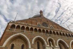Bazylika sant Antonio Padova Zdjęcie Stock