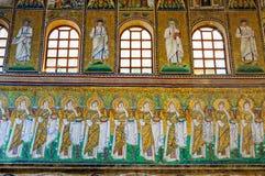 Bazylika Sant Apollinare Nuovo, Ravenna - Fotografia Stock