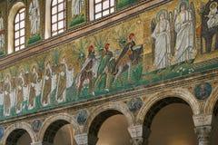 Bazylika Sant Apollinare Nuovo, Ravenna Włochy Obraz Stock