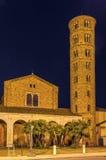 Bazylika Sant Apollinare Nuovo, Ravenna Włochy Zdjęcie Stock