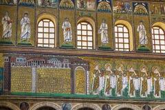 Bazylika Sant Apollinare Nuovo, Ravenna Włochy Obrazy Royalty Free