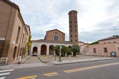 Bazylika Sant Apollinare Nuovo w Ravenna Zdjęcie Stock