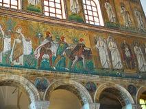 Bazylika Sant Apollinare Nuovo w Ravenna, emilia Włochy Obraz Stock