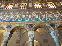 Bazylika Sant Apollinare Nuovo w Ravenna, emilia Włochy Obraz Royalty Free