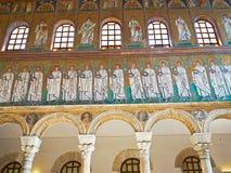 Bazylika Sant Apollinare Nuovo w Ravenna, emilia Włochy Zdjęcie Royalty Free