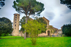 Bazylika Sant'Apollinare w classe Fotografia Stock