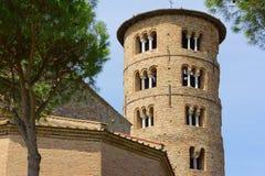 Bazylika Sant'Apollinare w Classe, Włochy Zdjęcia Stock