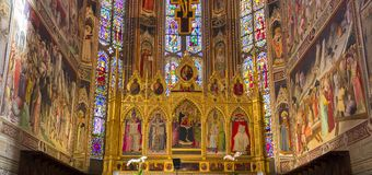 Bazylika Santa Croce, Florencja, Włochy Fotografia Royalty Free