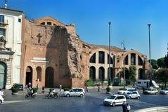 Bazylika Santa Maria Degli Angeli E Dei Martiri w Rzym zdjęcia stock