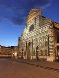Bazylika Santa Maria nowele, bazylika Santa Maria nowele, punkt zwrotny, niebo, architektura, buduje Zdjęcie Stock