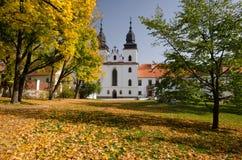 Bazylika St Procopius w Trebic kasztelu, republika czech obraz royalty free