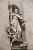 Bazylika - Watykan, Włochy Fotografia Stock