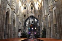 bazyliki święty nave procopius święty trebic fotografia royalty free