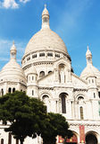 bazyliki Basilique Coeur Du Serce Paris sacr święty Obraz Royalty Free