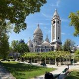 bazyliki coeur sacre Zdjęcie Royalty Free
