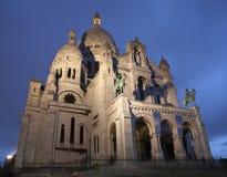 bazyliki couer Paris sacre Obraz Stock
