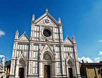 bazyliki croce di Florence Italy Santa obraz stock