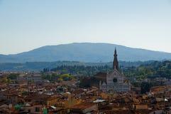 bazyliki croce di Florence Italy Santa Zdjęcie Royalty Free