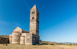Bazyliki della Santissima trinitàDi Saccargi Sardinia Obraz Royalty Free