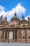 Bazyliki katedra Nasz dama filar obrazy stock