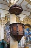 Bazyliki katedra St. Agat. Gallipoli. Puglia. Włochy. Obraz Royalty Free