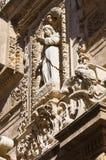 Bazyliki katedra St. Agat. Gallipoli. Puglia. Włochy. Zdjęcia Stock