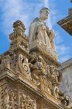 Bazyliki katedra St. Agat. Gallipoli. Puglia. Włochy. Obrazy Royalty Free