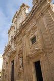 Bazyliki katedra St. Agat. Gallipoli. Puglia. Włochy. Obraz Stock