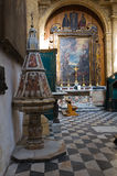Bazyliki katedra St. Agat. Gallipoli. Puglia. Włochy. Obrazy Stock