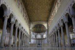 bazyliki nave Sabina Santa Zdjęcie Royalty Free