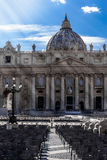 bazyliki Peter s st Obraz Royalty Free