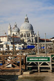 Bazyliki Santa Maria della salut w Wenecja, Włochy Zdjęcia Royalty Free