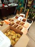 bazzar的食物 库存图片
