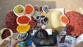 Bazzar -印地安人 免版税库存照片