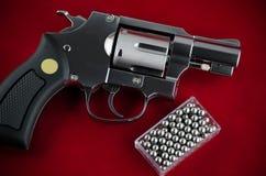 BB枪左轮手枪 库存图片