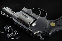 BB枪左轮手枪 免版税库存照片