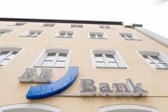 BB银行标志 免版税库存图片