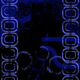 BB Abstract Background. Black and blue abstract image for backgrounds or wallpaper Royalty Free Stock Photos