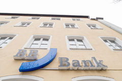 BB Bank sign Royalty Free Stock Images