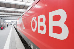 ÖBB Royalty Free Stock Photo