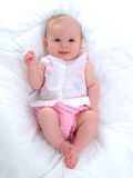Bébé de sourire Photos stock