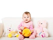 Bébé doux Photographie stock