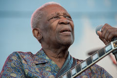BB King Royalty Free Stock Photography