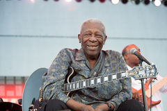 BB King Royalty Free Stock Photos