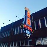 BB królewiątek błękitów klub w Memphis Fotografia Stock