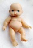 Bébé - poupée avec des yeux bleus Photographie stock libre de droits
