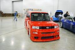BB rosso di Toyota nell'Expo 2012 del croco Fotografie Stock Libere da Diritti